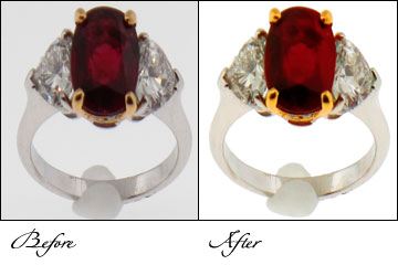 Jewellery photo finishing services, Jewellery photo restoration, Jewellery photo restoration service, Jewellery photo restoration services