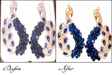 Jewellery Retouching Services in India, Retouching Jewellery image, Old Photo Restoration, Jewellery photo finishing