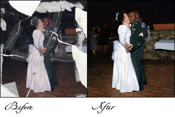 picture restoration, photograph restoration, Image restoration, Photos restoration services