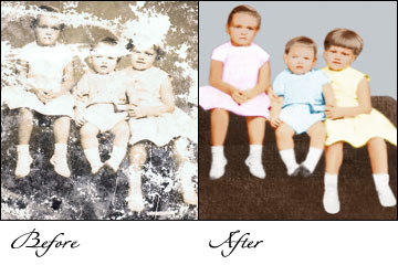 old pictures restoration, photographs restoration, old foto restoration in india