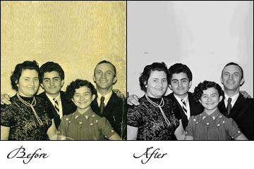 damaged Photo restoration Service, damaged picture restoration, damaged photograph restoration, digital Photo restoration work